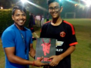 Player of the week (senior) 27/11/2015